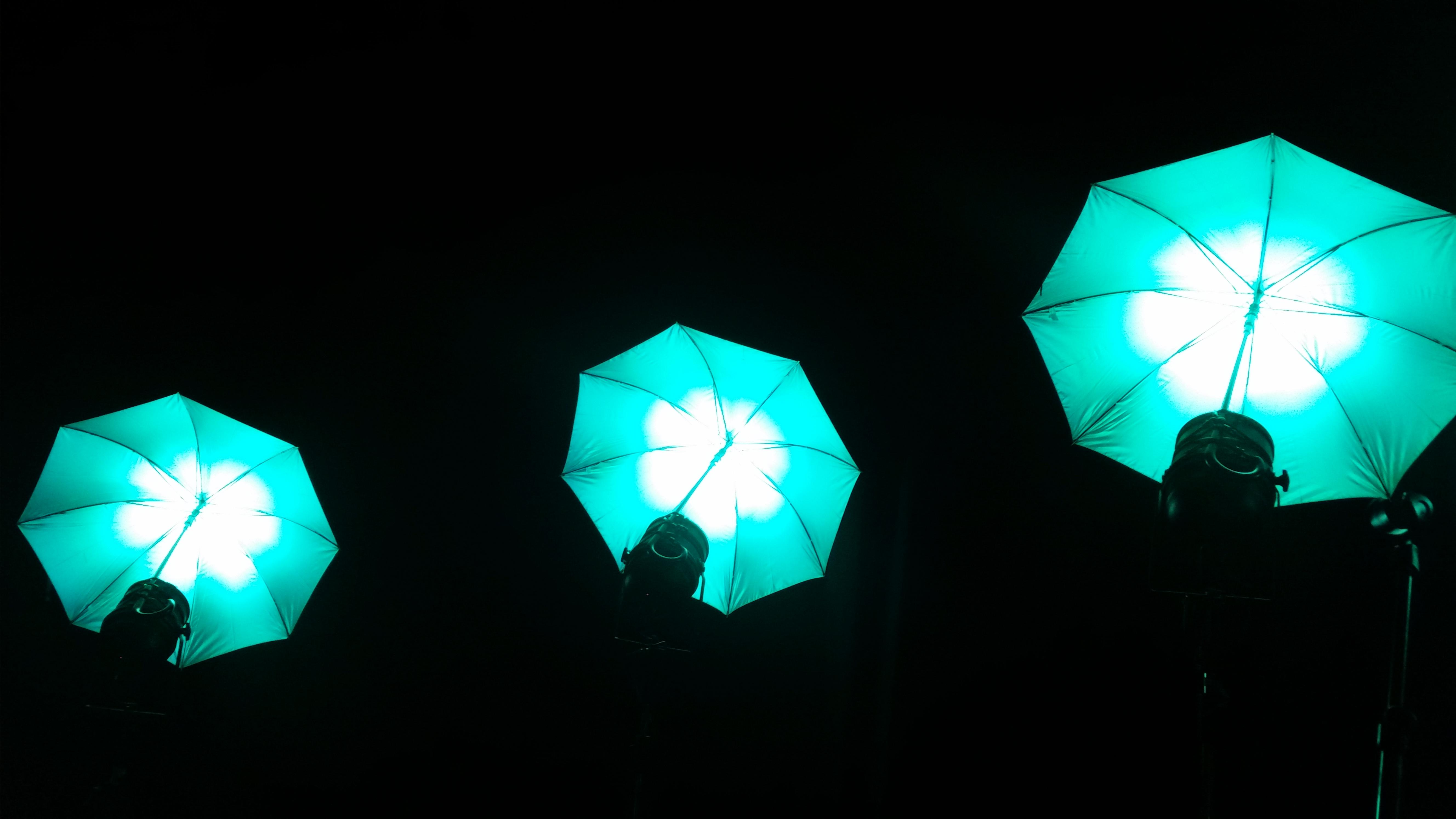 Neue LED Schirme als Designelemente 6