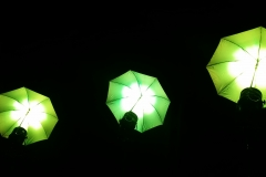 Neue LED Schirme als Designelemente 8