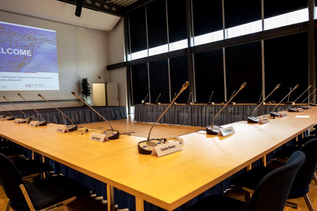 Konferenztechnik im Helmholz Zentrum Braunschweig